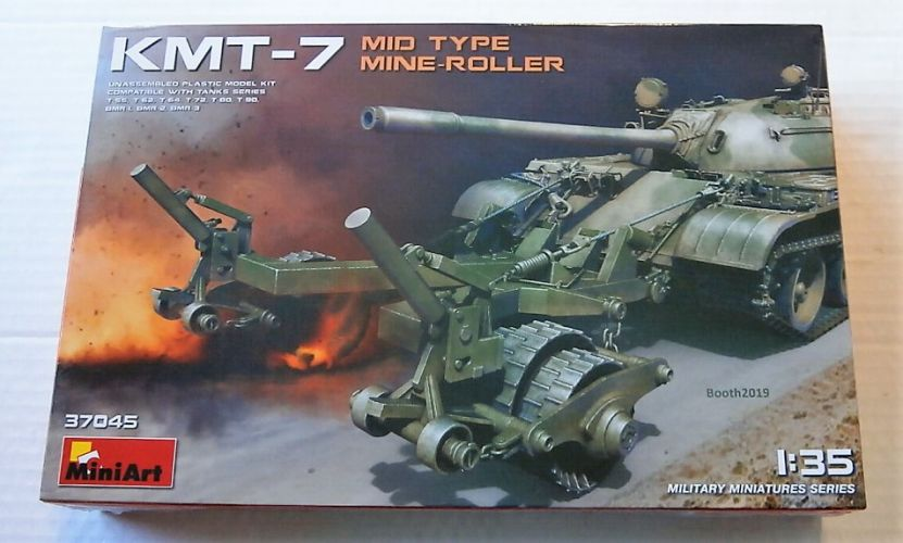 MINIART 1/35 37045 KMT-7 MID TYPE MINE-ROLLER
