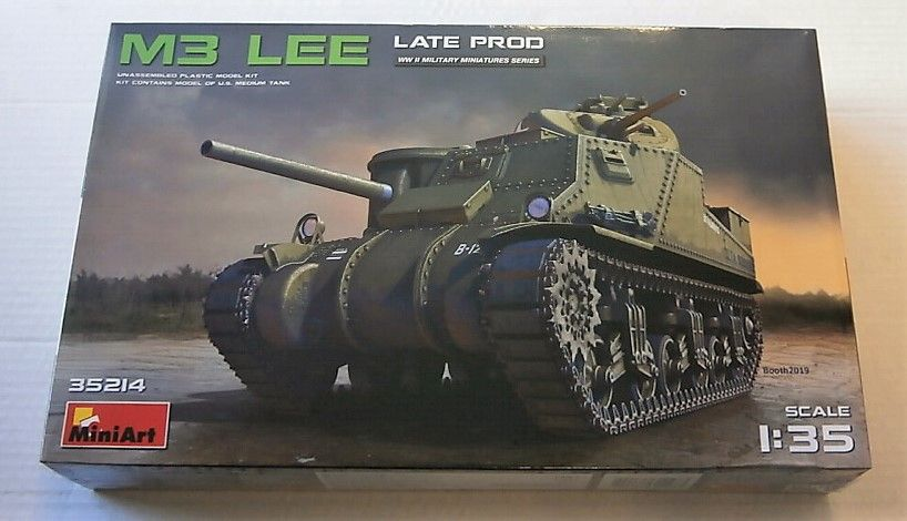 MINIART 1/35 35214 M3 LEE LATE PRODUCTION