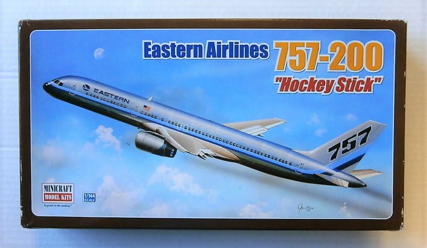 MINICRAFT 1/144 14505 EASTERN AIRLINES 757-200 HOCKEY STICK