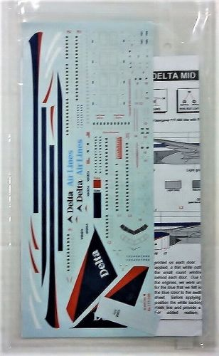 1/200 1516. SCALELINERS 2-22 DELTA MID 1990s 777-200