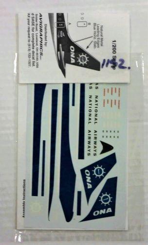 1/200 1152. 2034 ONA DC-8 -61F -63F OVERSEAS NATIONAL