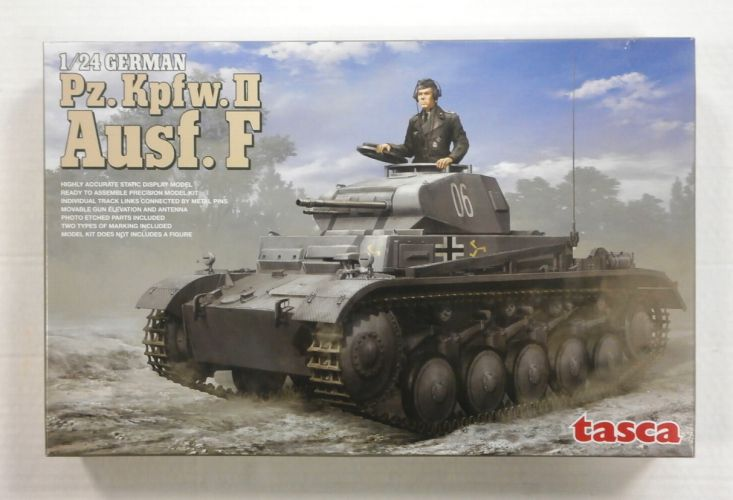 TASCA 1/24 24001 Pz.Kpfw.II Ausf.F