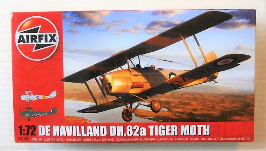 AIRFIX 1/72 02106 DE HAVILLAND DH.82A TIGER MOTH