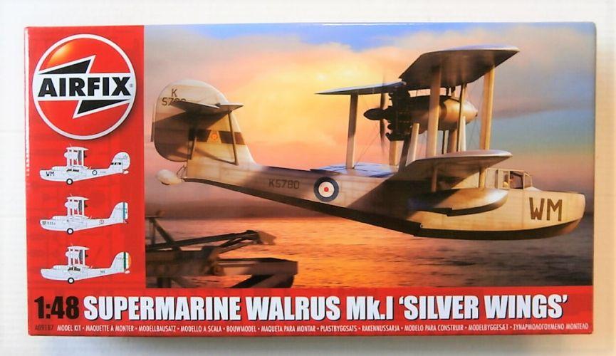 AIRFIX 1/48 09187 SUPERMARINE WALRUS MK.I SILVER WINGS
