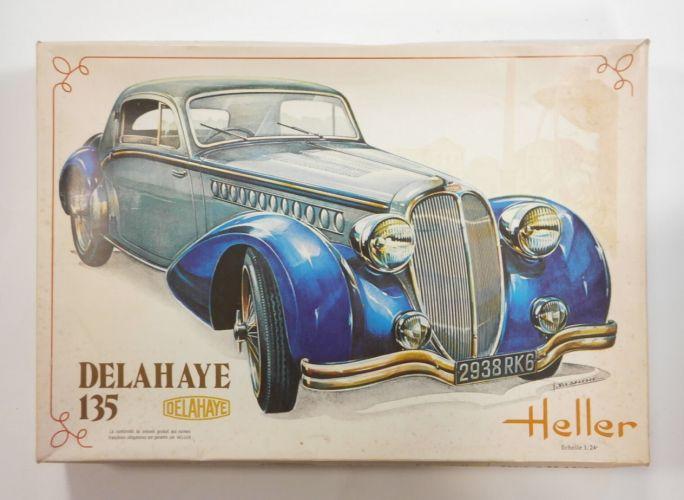 HELLER 1/24 707 DELAHAYE 135
