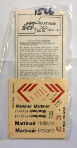 1/144 1566. JET SET JS20 MARTINAIR DC8/DC9-30/DC10