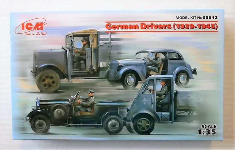 ICM 1/35 35642 GERMAN DRIVERS 1939-1945