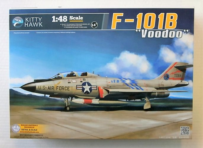 KITTYHAWK 1/48 80114 MCDONNELL F-101B VOODOO