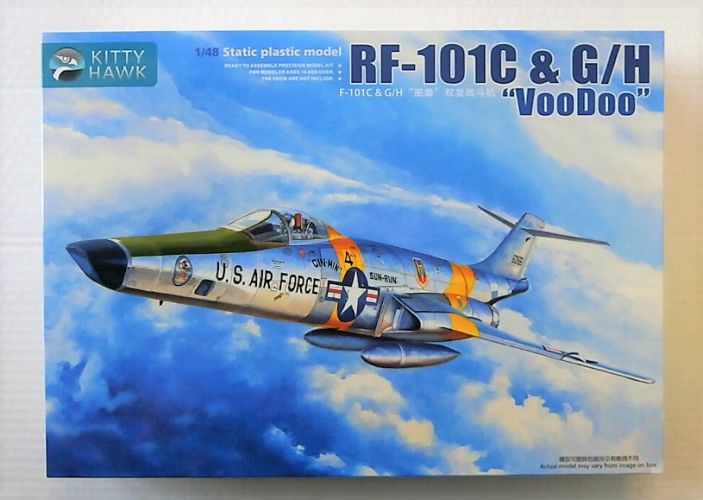 KITTYHAWK 1/48 80116 MCDONNELL RF-101C   G/H VOODOO
