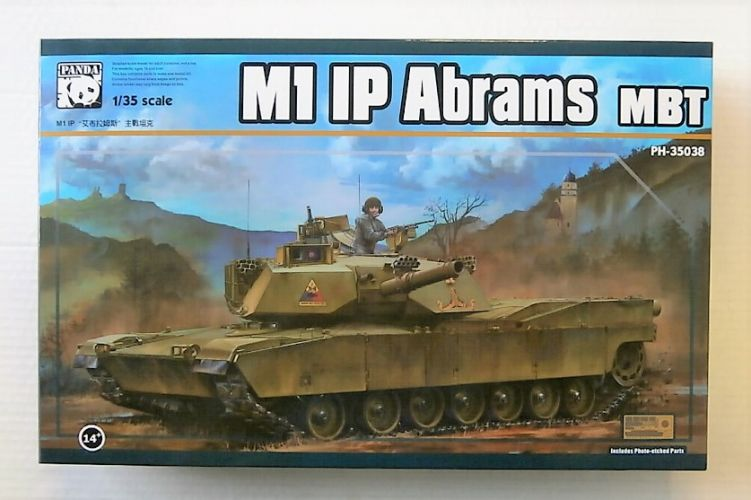 PANDA 1/35 35038 M1 IP ABRAMS MBT