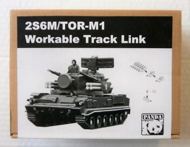 PANDA 1/35 TK-01 2S6M/TOR-M1 WORKABLE TRACK LINK