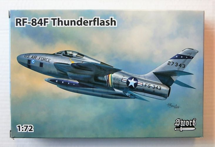SWORD 1/72 72116 RF-84F THUNDERFLASH PHOTO RECONNAISSANCE