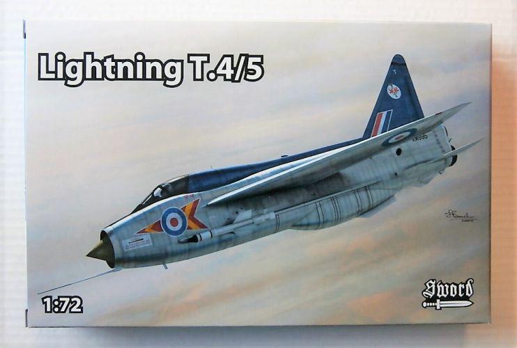 SWORD 1/72 72118 LIGHTNING T.4/5
