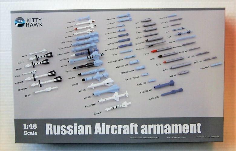 KITTYHAWK 1/48 80151 RUSSIAN AIRCRAFT ARMAMENT