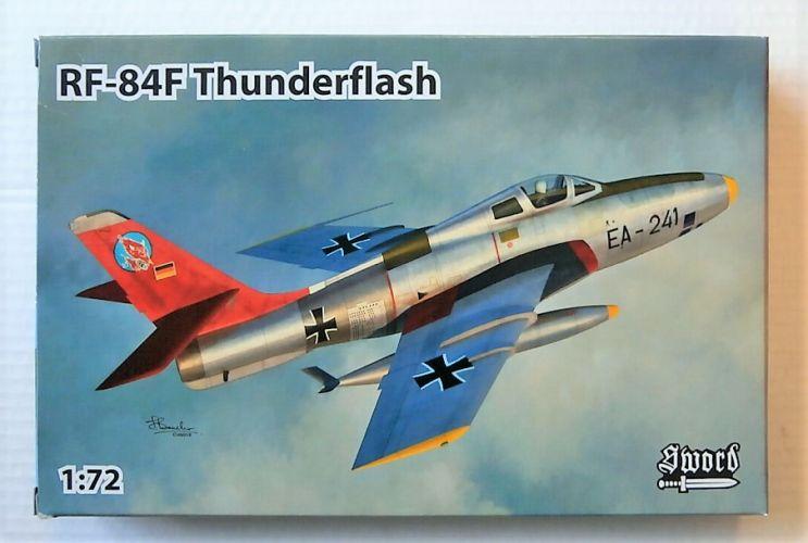 SWORD 1/72 72117 RF-84F THUNDERFLASH 4 MARKINGS