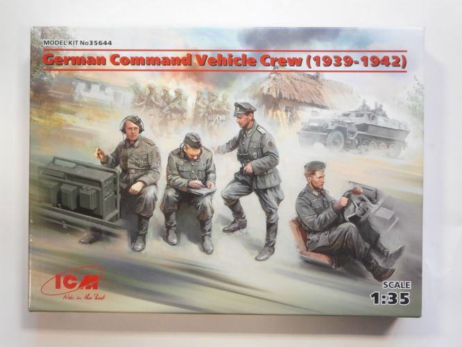 ICM 1/35 35644 GERMAN COMMAND VEHICLE CREW  1939-1942