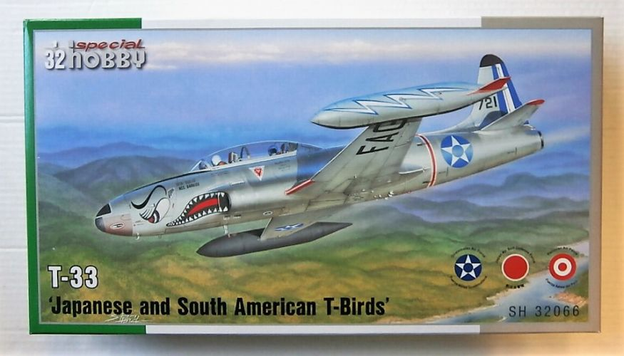 SPECIAL HOBBY 1/32 32066 LOCKHEED T-33 JAPANESE   SOUTH AMERICAN T-BIRDS