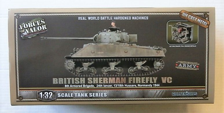 FORCES OF VALOR 1/32 801036A BRITISH SHERMAN FIREFLY VC
