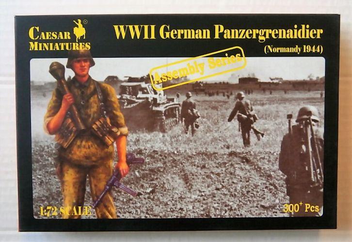 CAESAR MINATURES 1/72 7716 WWII GERMAN PANZERGRENADIER NORMANDY 1944