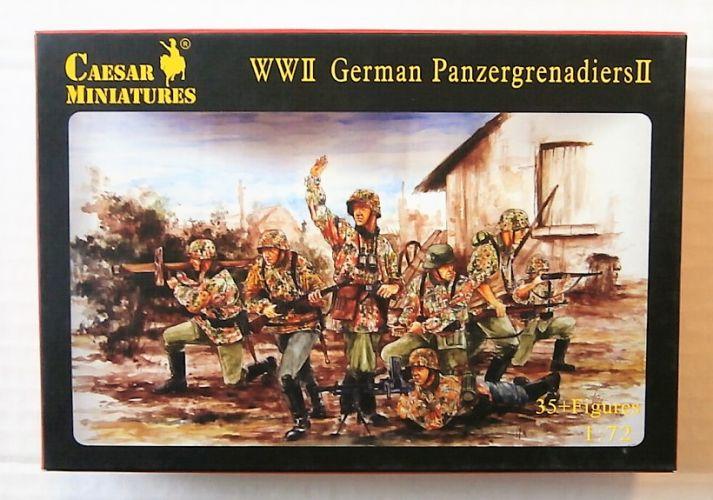 CAESAR MINATURES 1/72 053 WWII GERMAN PANZERGRENADIERS II