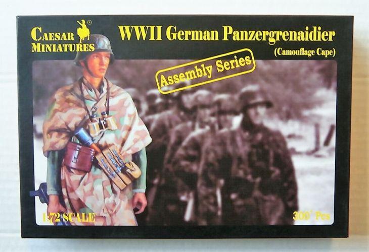 CAESAR MINATURES 1/72 7717 WWII GERMAN PANZERGRENADIER CAMOUFLAGE CAPE