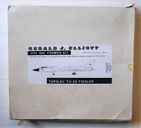 GERALD J ELLIOTT 1/72 TUPOLEV TU-28 FIDDLER