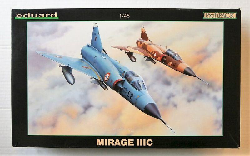 EDUARD 1/48 8101 MIRAGE IIIC PROFIPACK