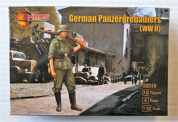 MARS 1/32 32018 GERMAN PANZERGRENADIERS WWII