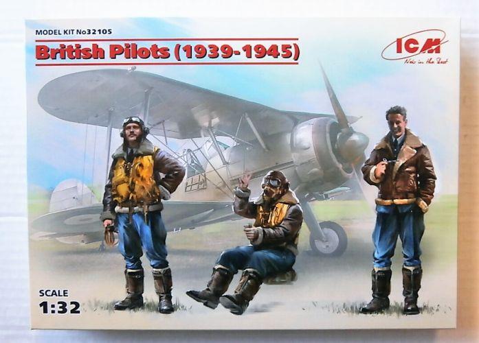 ICM 1/32 32105 BRITISH PILOTS 1939-1945