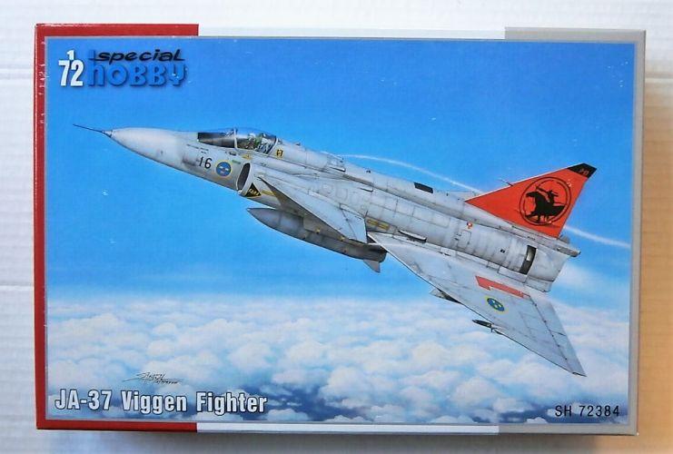 SPECIAL HOBBY 1/72 72384 SAAB JA-37 VIGGEN FIGHTER