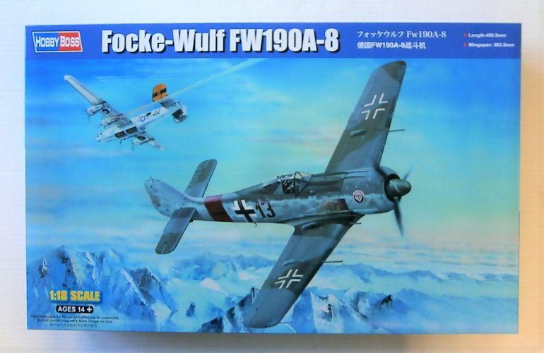 HOBBYBOSS 1/18 81803 FOCKE-WULF FW 190A-8  UK SALE ONLY