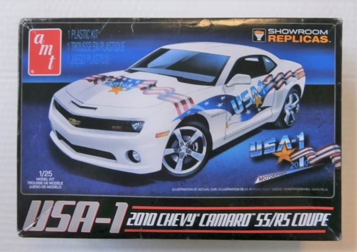 AMT 1/25 778 USA-1 2010 CHEVY CAMARO RR/RS COUPE