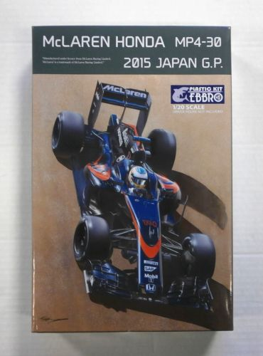 EBBRO 1/20 015 McLAREN HONDA MP4-30 2015 JAPAN G.P.