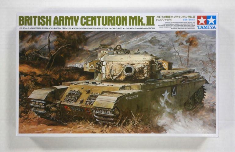 TAMIYA 1/35 25412 BRITISH ARMY CENTURION Mk.III