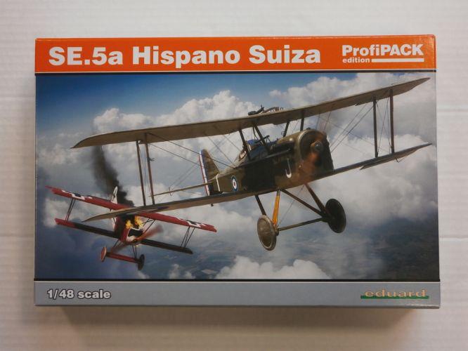 EDUARD 1/48 82132 SE.5a HISPANO SUIZA ProfiPACK EDITION