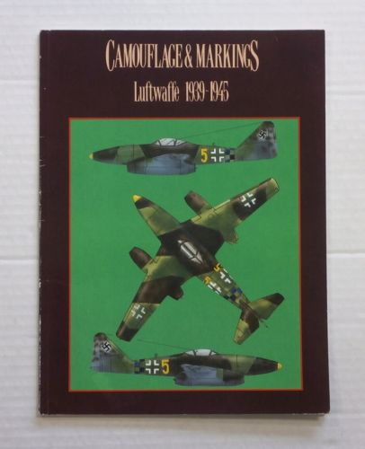 CHEAP BOOKS  ZB837 CAMOUFLAGE   MARKINGS LUFTWAFFE 1939 -1945