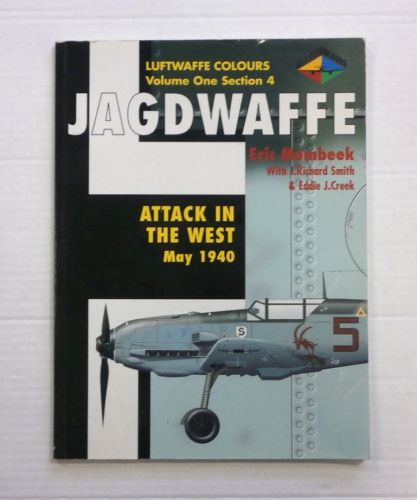 CHEAP BOOKS  ZB841 LUFTWAFFE COLOURS JAGDWAFFE VOL ONE SECTION 4