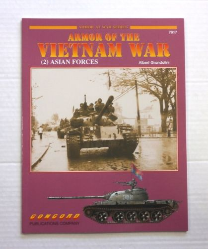 CHEAP BOOKS  ZB857 ARMOR OF THE VIETNAM WAR 2 ASIAN FORCES