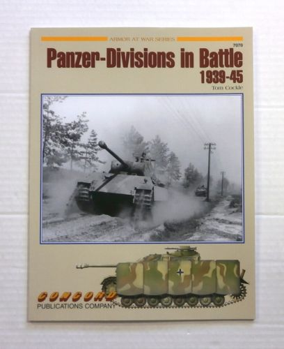 CHEAP BOOKS  ZB858 ARMOR AT WAR SERIES PANZER-DIVISIONS IN BATTLE 1939-45