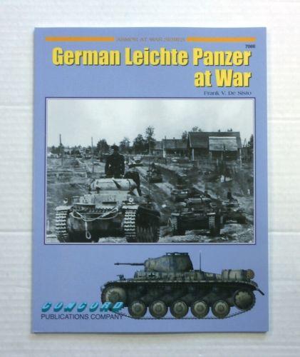 CHEAP BOOKS  ZB859 ARMOR AT WAR SERIES GERMAN LEICHTE PANZER AT WAR