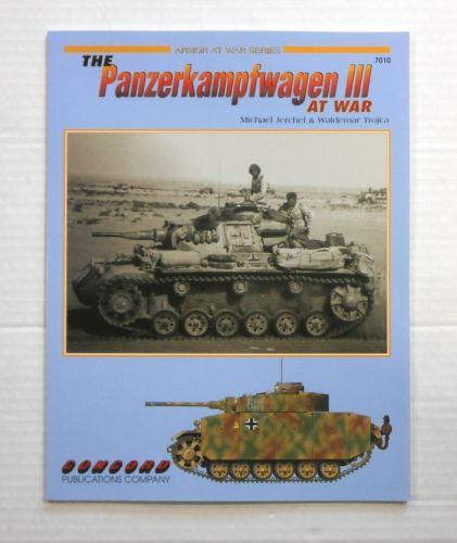 CHEAP BOOKS  ZB860 ARMOR AT WAR SERIES THE PANZERKAMPFWAGEN III AT WAR
