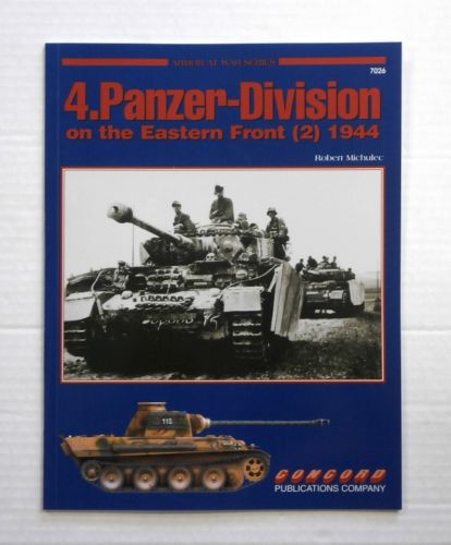 CHEAP BOOKS  ZB863 ARMOR AT WAR SERIES 4.PANZER-DIVISION ON THE EASTERN FRONT  2  1944