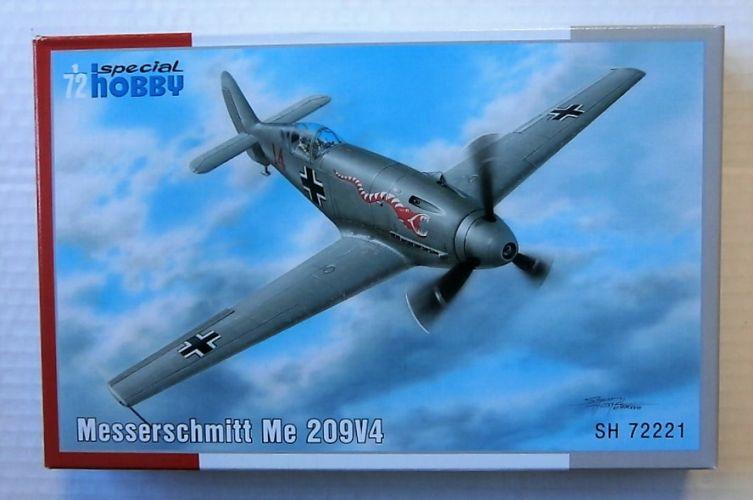 SPECIAL HOBBY 1/72 72221 MESSERSCHMITT ME 209V4