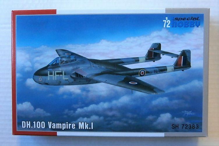 SPECIAL HOBBY 1/72 72383 DH.100 VAMPIRE MK.I