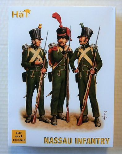HAT INDUSTRIES 1/72 8147 NASSAU INFANTRY
