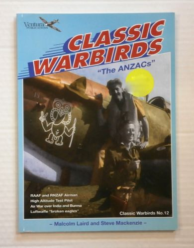 CHEAP BOOKS  ZB870 CLASSIC WARBIRDS NO.12 THE ANZACS