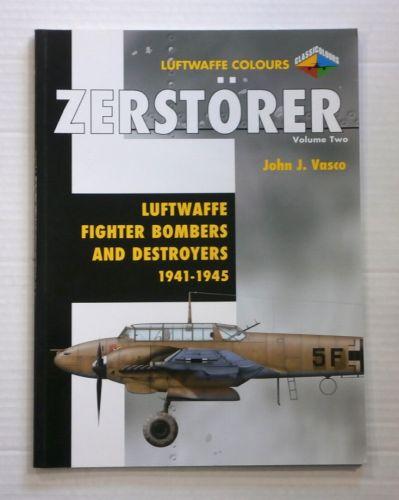 CHEAP BOOKS  ZB872 LUFTWAFFE COLOURS ZERSTORER VOL 2