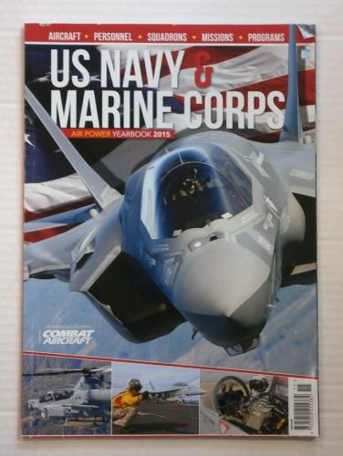 CHEAP BOOKS  ZB875 US NAVY   MARINE CORPS AIR POWER YEARBOOK 2015
