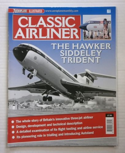 CHEAP BOOKS  ZB879 CLASSIC AIRLINER THE HAWKER SIDDELEY TRIDENT