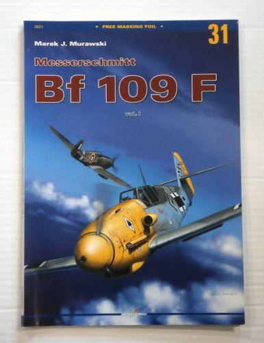 CHEAP BOOKS  ZB881 MONOGRAPHS 31 MESSERSCHMITT Bf 109 F VOL I  NO FOIL